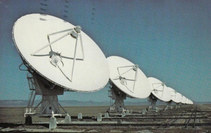 SOCORRO, New Mexico, 1984; National Radio Astronomy Observatory
