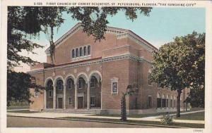 Florida Saint Petersburg First Church Of Christ Scientist