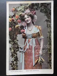 Actress Portrait: MISS NINA SEVENING c1907