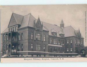 Pre-1907 HOSPITAL Concord New Hampshire NH A3115