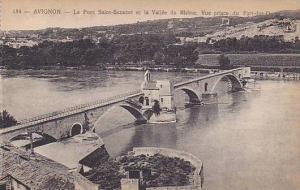 Le Pont Saint-Benezet Et La Vallee Du Rhone, Vue Prise Du Fort-des-Dome, Avig...