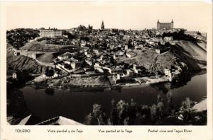 CPA Toledo Vista parcial y rio Tajo SPAIN (743864)