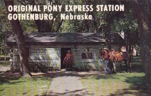 Original Pony Express Station Gothenburg Nebraska