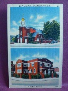 Old Postcard Split View Wilmington, DE