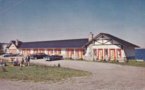 Motel Hotel Belle Plage , Matane by the Sea , Quebec , 40-60s