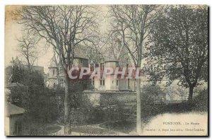 Old Postcard Pontoise Museum