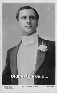 Mr C Hayden Coffin Theater Actor / Actress 1906