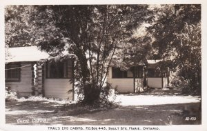 RP: SAULT STE. MARIE , Ontario , Canada , PU-1949 ; Trail's End Cabins