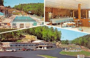Parkers Lake Kentucky Holiday Motor Lodge Multiview Vintage Postcard K41745