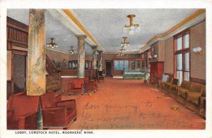Minnesota  Moorhead   Lobby, Comstock Hotel