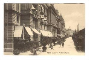 Nationalquai, Luzern, Switzerland, 1900-1910s