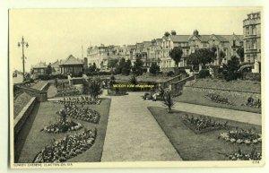 tp2753 - Sunken Gardens , Clacton-on-Sea , Essex - postcard