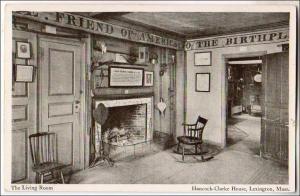 Living Room, Hancock-Clarke House, Lexington MA