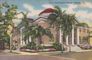 First Baptist Church, Orlando, Florida, 1930-1940s
