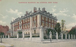 NEW YORK CITY, New York, 1900-1910s; Carnegie Mansion, 5th Avenue