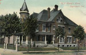 LOGANSPORT , Indiana, 1909; W. E. Haney's Home