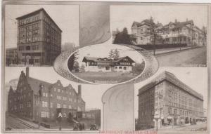 Prominent Seattle Clubs, Seattle, Washington, PU-1910