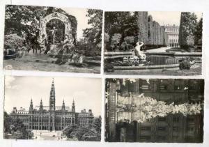 RP, 4 PC's, Different Views Of Wien, Vienna, Austria, 1920-1940s