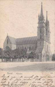 Switzerland Basel Muenster 1906