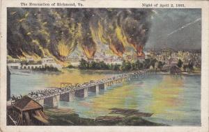 City On Fire, The Evacuation Of RICHMOND, Virginia, 1910-1920s