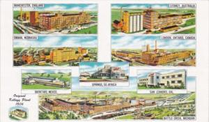 Kellogg Company Plants Worldwide 1953