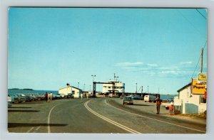 Caribou NS- Nova Scotia, Ferry Loading at Caribou, Scenic View, Chrome Postcard