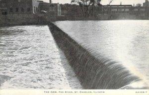 The Dam, Fox River, St. Charles, Ill.