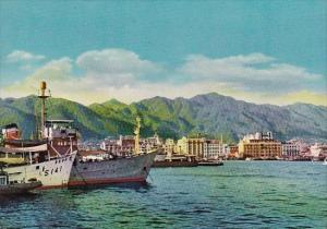 Japan Kobe Harbor Scene