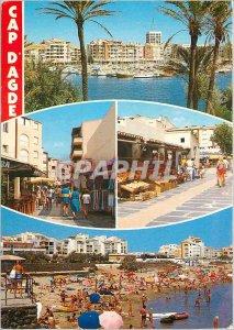 Postcard Modern Cap d'Agde Herault