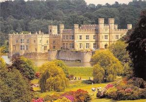 Leeds Castle Maidstone Kent View across the Park
