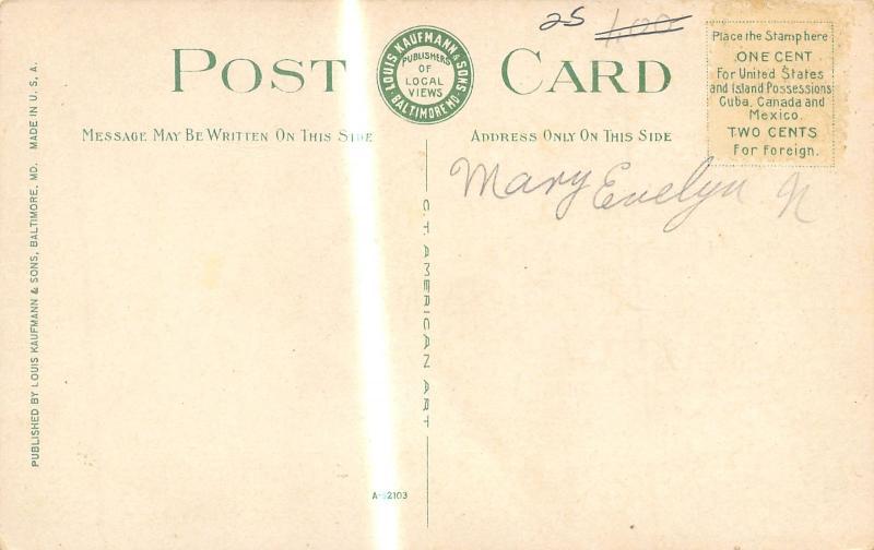 Fort Monroe VA Early Autumn @ The Protestant Chapel c1915 Postcard