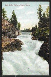 Post Falls Spokane River Idaho Used c1909