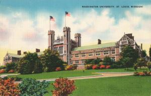 Postcard Washington University St Louis Missouri