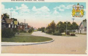 WINDSOR, Ontario, Canada, 1900-10s ; Giles Boulevard