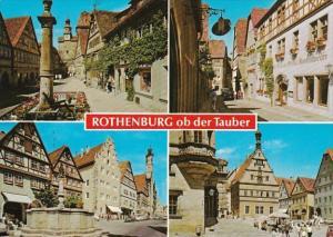 Germany Rothenburg ob der Tauber Multi View