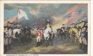 Surrender Of Cornwallis Painting By John Trumbull