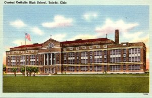 Ohio Toledo Central Catholic High School 1947