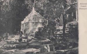 Balaram Temple Palanpur India Indian Antique Postcard