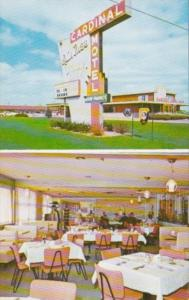 Indiana New Castle Raintree Dining Room and Cardinal Motel