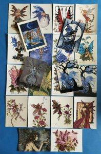 Lovely Collection of 22 Amy Brown Fairies Art Postcards, Brand New Old Stock
