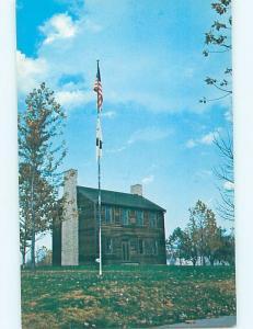 Unused Pre-1980 COURTHOUSE SCENE Lincoln Illinois IL d2537-12