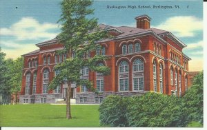 Burlington, VT., Burlington High School