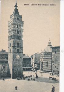 Pistoia, Tuscany, Italy , 00-10s - Campantle della Cattedrale e Battlstero