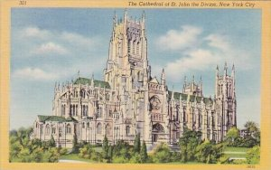 The Cathedral Of Saint John The Divine New York City New York