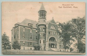 East Northfield MA~Dwight Moody's Seminary For Young Ladies~Marquand Hall~c1905