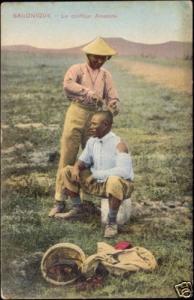 greece, SALONICA SALONIQUE, Anamite Hairdresser (1910s)