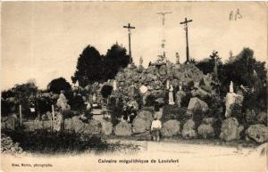 CPA  Calvaire mégalithique de Louisfert   (587955)
