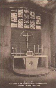 North Carolina Durham Chapel Of The Carmel Of The Most Holy Incarnation Artvue