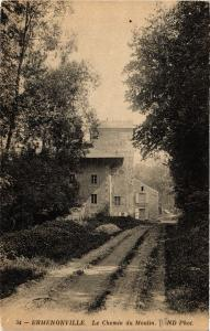 CPA ERMENONVILLE - Le Chemin du Moulin (424139)