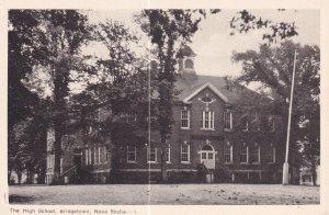 BRIDGETOWN, Nova Scotia, Canada, 1910-1950s; The High School